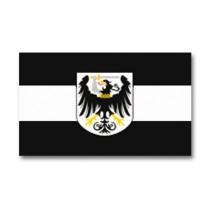 Mil-Tec Flagge Westpreussen mit Wappen 150 x 90 cm