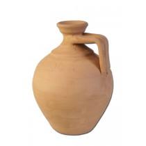 Battle Merchant Römische Enghalsflasche aus Ton 18 cm