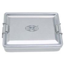 MFH Aluminiumbox Silber