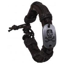 "PURE TRASH Armband ""Totenkopf"""