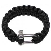 "MFH Armband ""Paracord"" 2,3 cm Breite Metallverschluss"