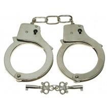 MFH Handschellen Chrom mit 2 Schlüsseln