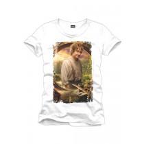 "T-Shirt ""Der Hobbit - Bilbo"" Weiß"