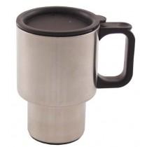 FoX Outdoor Tasse Edelstahl 400 ml mit Deckel