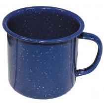 MFH Tasse Emaille 350 ml Blau