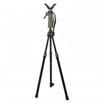 Fritzmann 2-teiliger Teleskop-Zielstock Dreibein 100-165cm