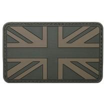 MFH Klettabzeichen Großbritannien Oliv 8 x 5 cm