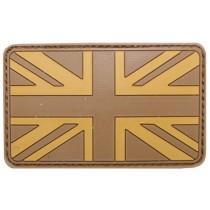 MFH Klettabzeichen Großbritannien Desert 8 x 5 cm