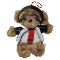 MFH Pilotenbär mit Fliegerbrille 24 cm