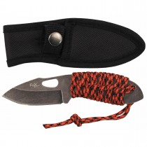 FoX Outdoor Messer Redrope Klein Stonewashed 16cm