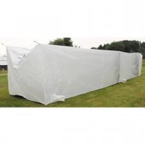 MFH Britisches Containerzelt Weiß 12x2x2m NEUWERTIG