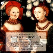 Ensemble I Ciarlatani und Georg Forster - Teutsche Liedlein CD