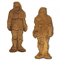 "Geocoin ""Gary der Mega Bigfoot"""