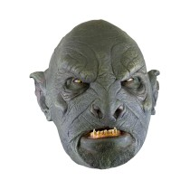 Battle Merchant Ork-Maske Dunkelgrün