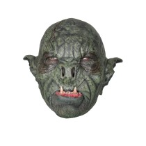 Battle Merchant Wilder Ork-Maske Grün