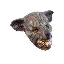 Battle Merchant Rattenmensch-Maske Braun