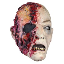 Battle Merchant Zombie Maske mit Blut