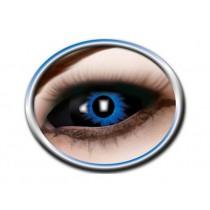 "Farbige Sclera Kontaktlinsen ""Blue Demon"""
