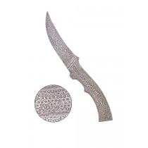 Messerrohling aus Damaststahl 24,8 cm