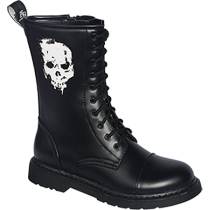 Knightbridge Stiefel Dark Creationz RZ-SK Totenkopf