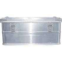Transportbox Silber