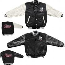 """Tysonz Baseball-Jacke """"Rindleder"""" Tysonz-Logo"""