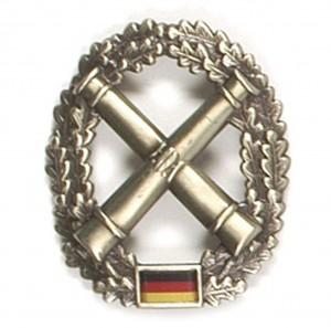 BW Barettabzeichen Artillerietruppe
