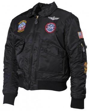 MFH US Kinder-Pilotenjacke mit Fliegerabzeichen