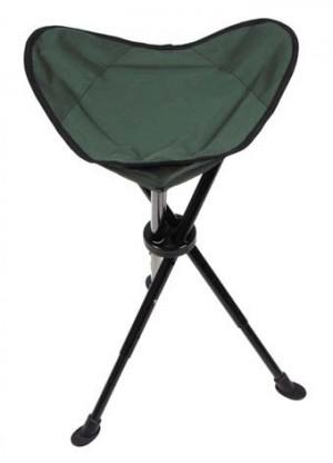 MFH Klapphocker mit Teleskop-Dreibein