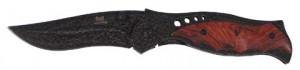 FoX Outdoor Einhand-Klappmesser mit Holzgriff 20,5 cm