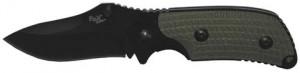 FoX Outdoor Einhand-Klappmesser Oliv 18,5 cm