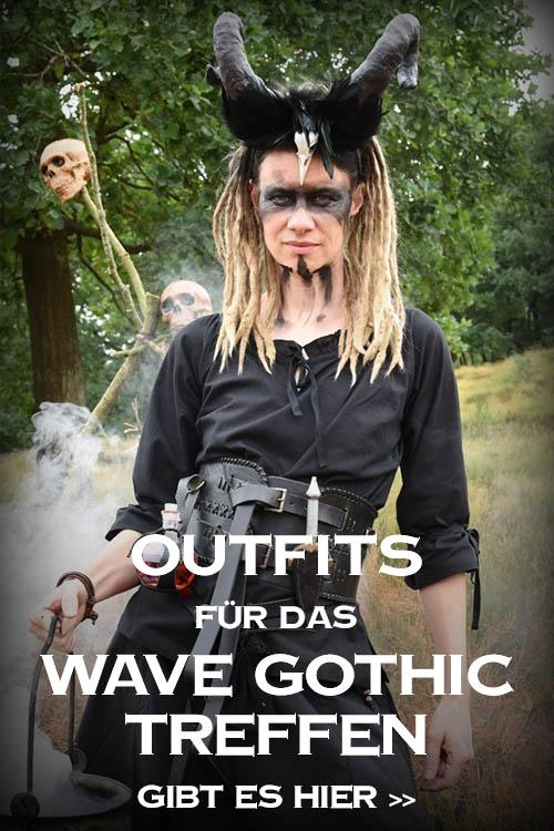 Outfits für das Wave Gothic Treffen